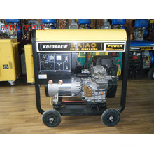 AC Single Phase 3kw/DC 300A Key Start Double Use Diesel Welder Generator